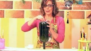 getlinkyoutube.com-Reciclando garrafa de vinho