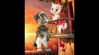 getlinkyoutube.com-Tom loves Angela funny video sanam re hua hai aj pehli baar version