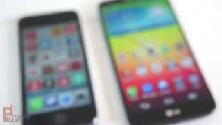 getlinkyoutube.com-Apple iPhone 5S vs LG G2