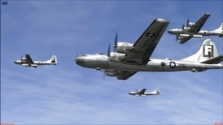 getlinkyoutube.com-IL-2 Sturmovik 1946: P-51 escorts B-29 Bombers