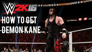 getlinkyoutube.com-WWE 2K16 How to get Demon Kane Tutorial & WWE 2K16 Glitch.