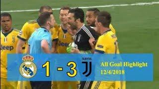Real Madrid VS Juventus (1   3) All Goal Full Highlight 12/4/2018