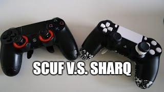 getlinkyoutube.com-Scuf Gaming Infinity 4PS  V.S. SHARQ PS4 controller
