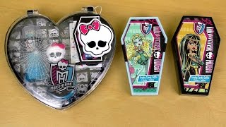 getlinkyoutube.com-Monster High Glamour Make Up KIT + Extras