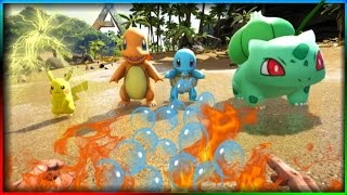 getlinkyoutube.com-SO MANY POKEMON IN ARK! - Ark Survival Evolved Pokemon Mod #1 (ARK Modded Gameplay)