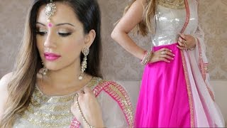 getlinkyoutube.com-Sangeet Get Ready With Me | Kaushal Beauty