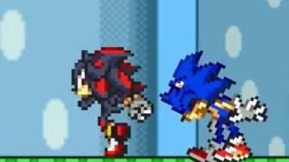 getlinkyoutube.com-Funny! Sonic vs Shadow
