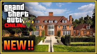 getlinkyoutube.com-GTA 5 Online: Mansion, Apartment & House Customization DLC! (GTA 5 Executives & Other Criminals)