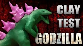 getlinkyoutube.com-Friendly Competition | Godzilla Claymation | Godzilla 2000 v. Godzilla 2014