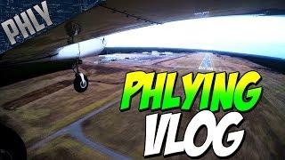 getlinkyoutube.com-First Landing In 4 YEARS! (Flying Vlog)