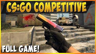 SO EASY - CS:GO Full Competitive Game Overpass (Global Elite Rank)