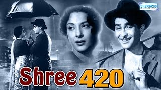 getlinkyoutube.com-Shree 420 - Raj Kapoor, Nadira and Lalita Pawar - Bollywood Evergreen Movie