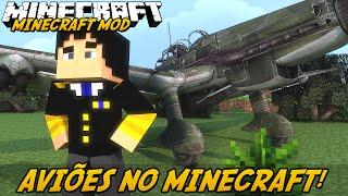getlinkyoutube.com-Minecraft Mod: AVIÕES REALISTAS! (Aviões e Helicópteros // MC Heli Mod)