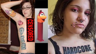 getlinkyoutube.com-Worlds Worst Tattoos! #32