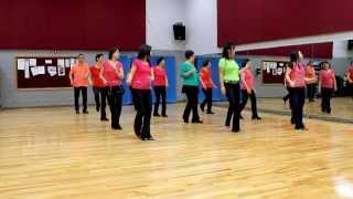 getlinkyoutube.com-Better Times - Line Dance (Dance & Teach in English & 中文)