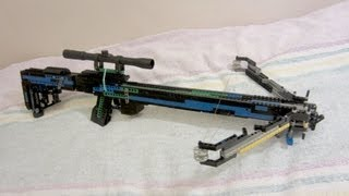 getlinkyoutube.com-Lego Crossbow [+instruction]