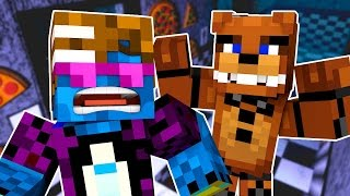 Minecraft School Monsters: FREDDY THE DAY GUARD! (Minecraft Roleplay) #3