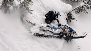 getlinkyoutube.com-2016 Montana Backcountry Snowmobiling