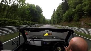 getlinkyoutube.com-Vw golf mk1 cabriolet 20v turbo nurburgring