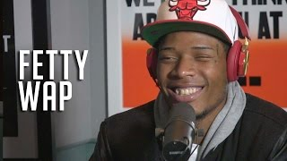 getlinkyoutube.com-Fetty Wap won't discuss what happened to his eye, but is in love...