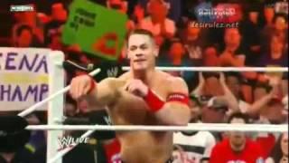 getlinkyoutube.com-Fan Throws John Cena's Shirt Back To Him