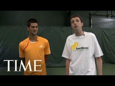 A Free Lesson With: Novak Djokovic