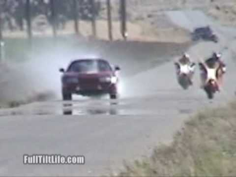 Supra Blows Up Motor In Roll On Race Vs Suzuki Hayabusa - Ki