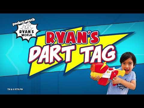 Ryan's World Dart Tag E-Radicator Motorized Blaster