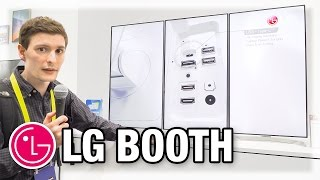 getlinkyoutube.com-LG Booth - The Awesome, The Good, The Meh (CES 2017)