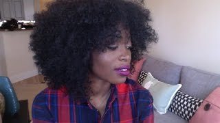 getlinkyoutube.com-KINKY Curly WIG: CANDEE BY OUTRE| Protective Style