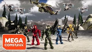 getlinkyoutube.com-Mega Bloks Halo -- Assault on Squad 45: Episodes 1 - 4
