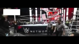 getlinkyoutube.com-Roman Reigns Attacks Triple h December 2015 TLC match.