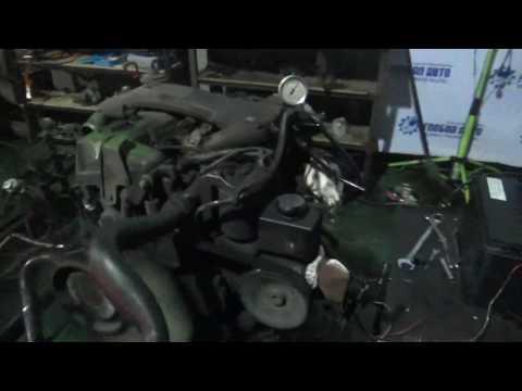 Проверка давления масла в двигателе Korando, Musso 2.3л
