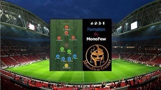 getlinkyoutube.com-Fifa Online 3 Formation & Tactic 4-2-3-1 สำหรับ Rank 1  vs 1 สไตล์ MonoFew