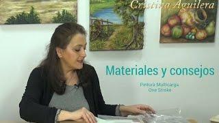 getlinkyoutube.com-Materiales utilizados en la pintura One Stroke