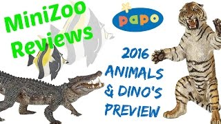 getlinkyoutube.com-Papo 2016 Animals and Dinosaurs Preview