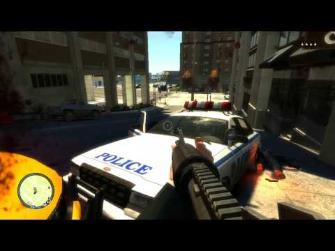 GTA 4 First Person PC HD