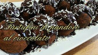getlinkyoutube.com-***Tartufini di Pandoro al cioccolato*** - Kissgibellina72