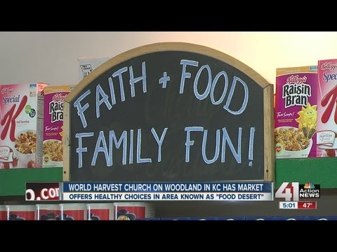 Church opens grocery in food desert