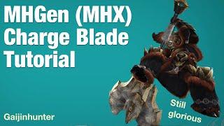 getlinkyoutube.com-Monster Hunter Generations (MHX): Charge Blade Tutorial