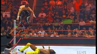 getlinkyoutube.com-WWE Evan Bourne Vs Kofi Kingston HD