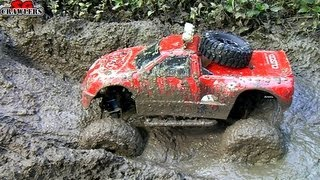 getlinkyoutube.com-RC Trucks Mud SPA! 11 Trucks mudding at Butterfly Trail - Axial SCX10 RC4WD Trail Finder 2
