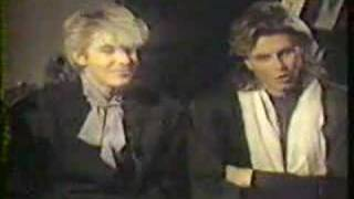 getlinkyoutube.com-Duran Duran Interview 1986 (Part 2 of 2)
