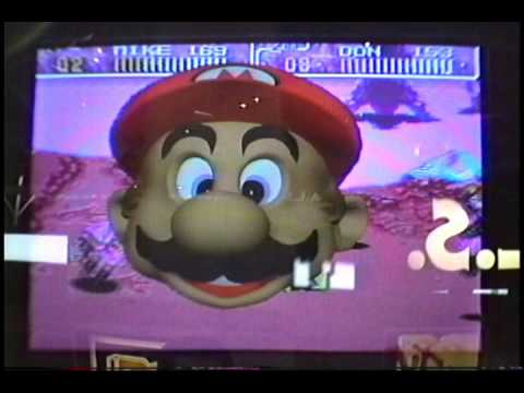 Real Time Mario (Mario's Head)