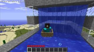getlinkyoutube.com-Minecraft Waterslide