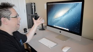 "getlinkyoutube.com-iMac 27"" Unboxing, $300.00 Savings. Ram Upgrade, Speed Test, SSD vs Fusion"