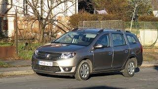 getlinkyoutube.com-Videoteszt: Dacia Logan MCV 0,9 TCe Arctic