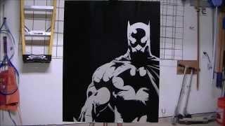 getlinkyoutube.com-Batman Stencil Expermint