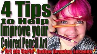 getlinkyoutube.com-Colored Pencils 101  4 Tips to improve your work