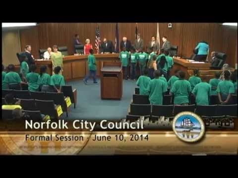 Formal 06/10/14 Session - Norfolk City Council